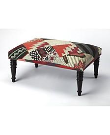 CLOSEOUT! Butler Lucinda Upholstery Ottoman