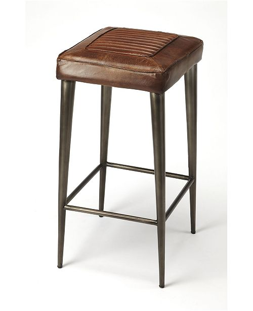 Butler Specialty Butler Maxine Leather Bar Stool