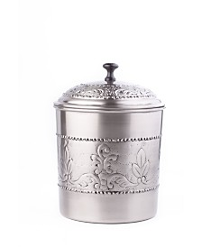 Old Dutch International Antique Embossed Victoria Cookie Jar with Fresh Seal Cover, 4-Quart