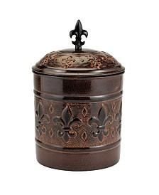 "Old Dutch International ""Versailles Cookie Jar with Fresh Seal Lid, 4-Quart"