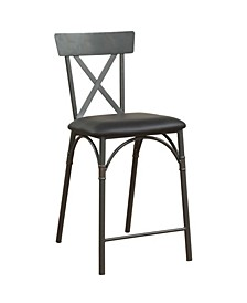 Itzel Counter Height Chair, Set of 2