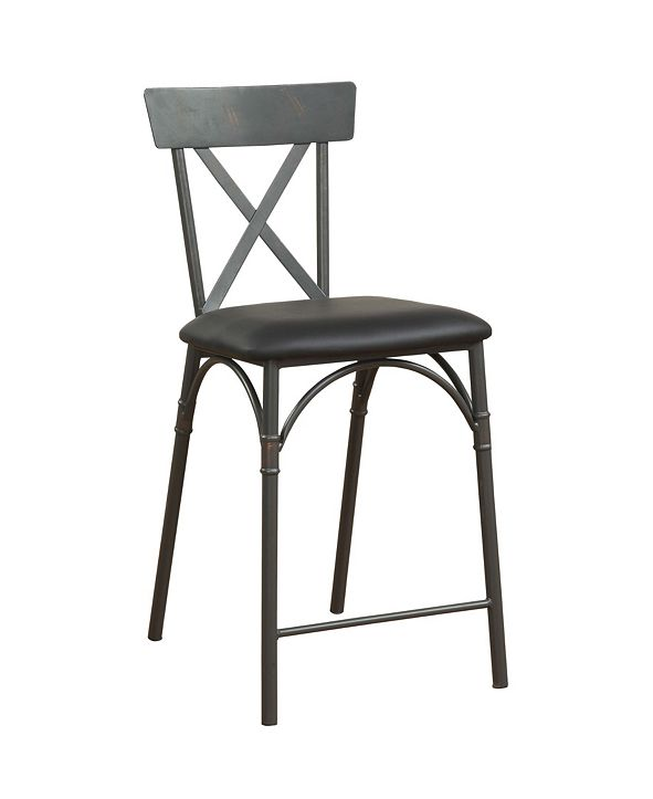 Acme Furniture Itzel Counter Height Chair, Set of 2