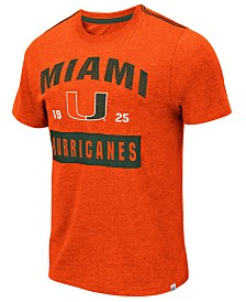Colosseum Men's Miami Hurricanes Team Patch T-Shirt