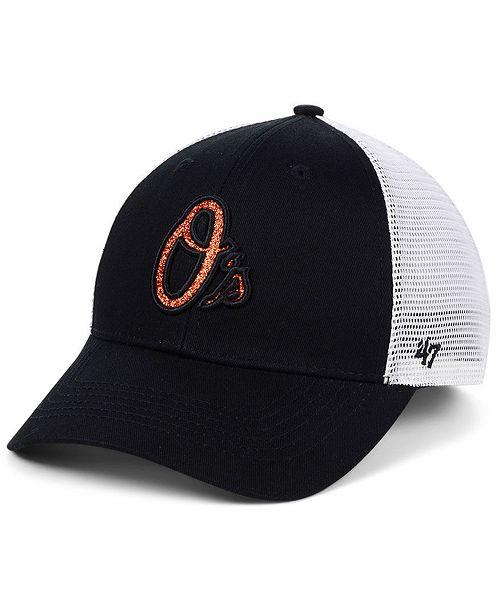 2ea02878586f8 ... Strapback Cap   47 Brand Women s Baltimore Orioles Branson Glitta  Trucker Strapback ...