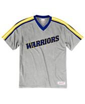 61f857d0c88 Mitchell   Ness Men s Golden State Warriors Overtime Win V-Neck T-Shirt