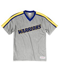 57b94ef31 Mitchell   Ness Men s Golden State Warriors Overtime Win V-Neck T-Shirt