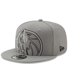 New Era Dallas Mavericks Light It Up Gray 9FIFTY Snapback Cap