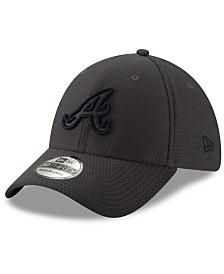New Era Atlanta Braves Graphite Pop 39THIRTY Cap