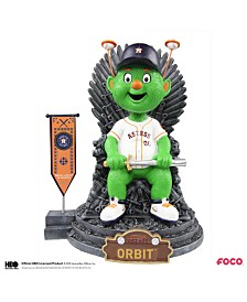 Forever Collectibles Houston Astros Game Of Thrones Mascot On Throne Bobblehead