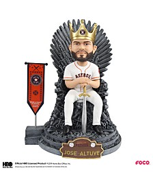 Forever Collectibles Jose Altuve Houston Astros Game Of Thrones Iron Throne Bobblehead