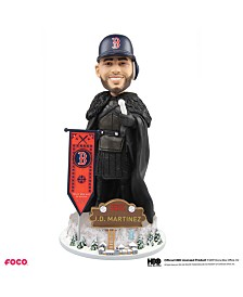 Forever Collectibles J.D. Martinez Boston Red Sox Game Of Thrones Nights Watch Bobblehead