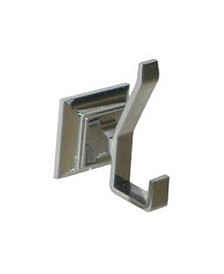 Arista Leonard Robe Hook Satin Nickel Finish
