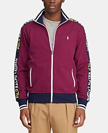 Men's Logo Graphic Track Jacket