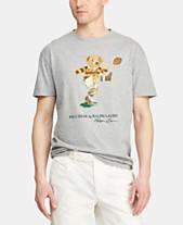 d35937663f2076 Polo Ralph Lauren Men's Polo Bear T-Shirt
