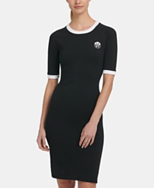 DKNY Sport Logo T-Shirt Dress