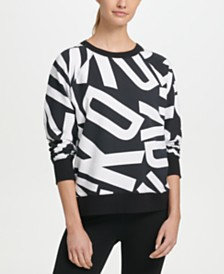 DKNY Sport Logo-Print Sweatshirt, Created for Macy's