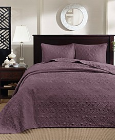 Quebec 3-Piece Queen Quilted Bedspread Set