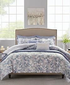 Madison Park Erica Full/Queen 8 Piece Printed Seersucker Comforter and Coverlet Set