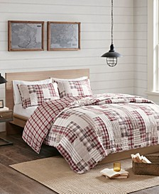 Montana 3-Pc. Reversible Printed Coverlet Sets