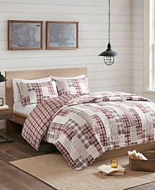 Madison Park Montana 3-Pc. Reversible Printed Coverlet Sets