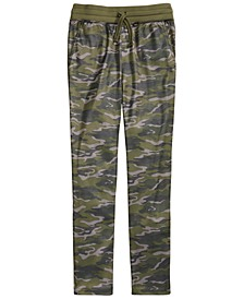 Big Boys Camouflage Tricot Pants, Created for Macy's