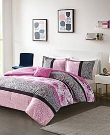 Ophelia 4-Pc. Printed Comforter Sets