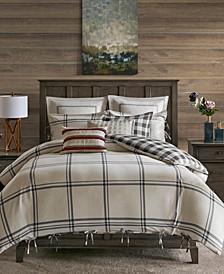 Madison Park Signature Willow Oak King 9 Piece Reversible Cotton Comforter Set