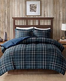 Woolrich Flint King 3 Piece CozySpun Down Alternative Comforter Mini Set