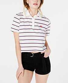 Striped Cotton Polo