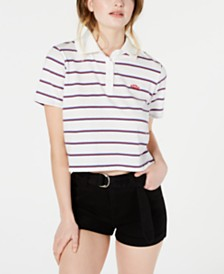 Dickies Striped Cotton Polo