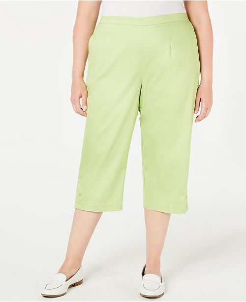 Alfred Dunner Plus Size Cayman Islands Capris