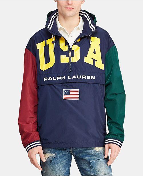 Polo Ralph Lauren Men's USA Graphic Jacket