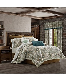 J Queen Phoenix Spa Queen Comforter Set