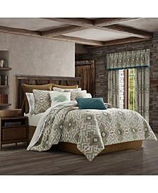 J Queen Phoenix Spa Queen Comforter Set