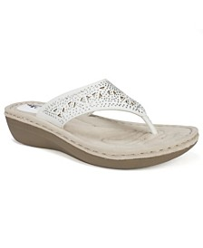 Cliffs by White Mountain Carlotta Comfort Thong Sandals