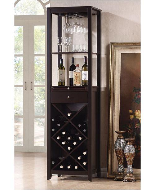 Acme Furniture Casey Wine Cabinet