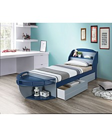 Neptune II 2-Piece Trundle Storage Drawer Set (Bed sold separately)