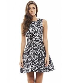 AX Paris Leopard Print Skater Dress