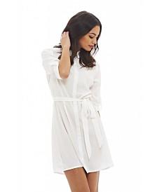 AX Paris 3/4 Sleeve Shirt Dress