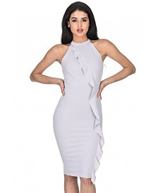 AX Paris High Neck Midi Dress