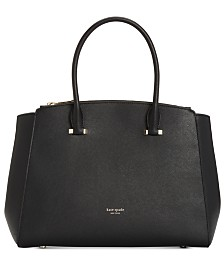 kate spade new york Sydney Medium Double Zip Leather Satchel