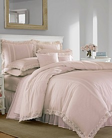 Annabella Pastel Pink Duvet Set, Full/Queen