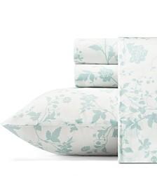 Laura Ashley Garden Palace Pastel Blue Sheet Set, King