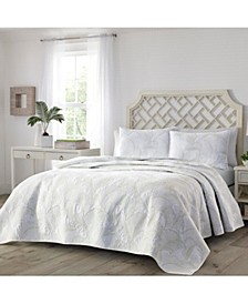 Tommy Bahama Paradise Fronds King Quilt