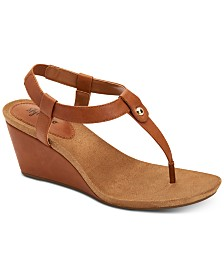 Style & Co Women's Mariella Wedge Sandals, Created for Macy's