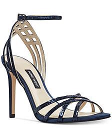 Nine West Women's Ivonne Strappy Evening Sandals