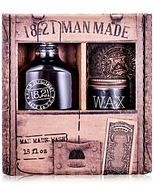 18.21 Man Made 2-Pc. Wash & Wax Gift Set