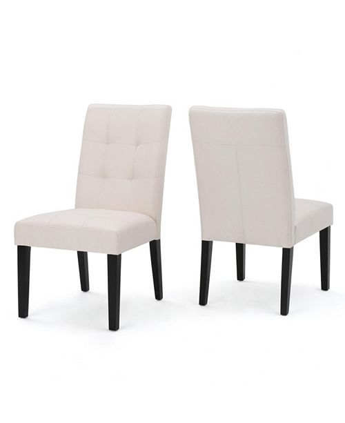 Noble House Colwin Dining Chair (Set of 2), Quick Ship