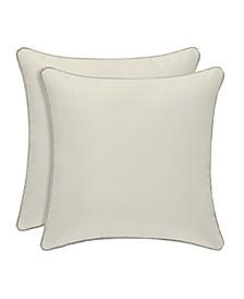 "J. Queen New York Dream 16"" Square Decorative Pillow"