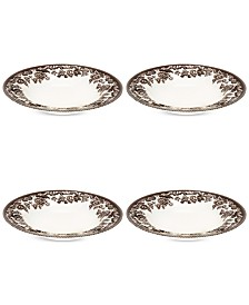 Spode Delamere Soup Plates, Set of 4